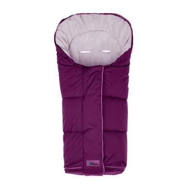 ALTABEBE Zimní fusak Nordic do kočárku fialový-růžový - růžová/pink