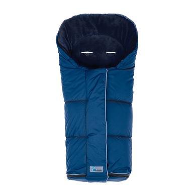 ALTABEBE Zimní fusak Nordic do kočárku tmavě modrý-tmavě modrý - modrá