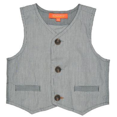Babytaufbekleidung - Staccato Boys Weste anthra Streifen – grau – Gr.Babymode (6 – 24 Monate) – Jungen - Onlineshop Babymarkt