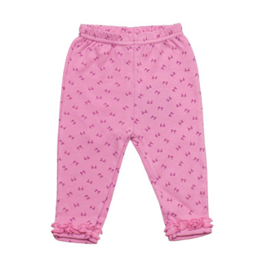 Salt and Pepper Baby Glück Girls Legging Love allover mauve lila Mädchen