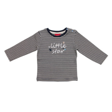 Babyoberteile - SALT AND PEPPER Baby Glück Boys Longsleeve little star stripe cobalt - Onlineshop Babymarkt