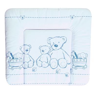 Wickelmöbel und Zubehör - Schardt Wickelauflage Folie 84 x 74 cm Teddy weiß  - Onlineshop Babymarkt