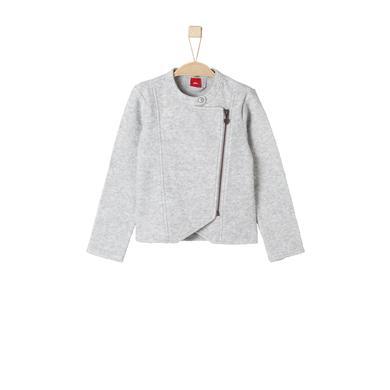 s.Oliver Girls Sweatjacke grey melange grau Gr.Kindermode (2 6 Jahre) Mädchen