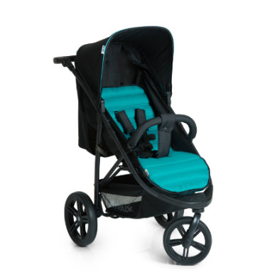 hauck Buggy Rapid 3 Caviar-Turquoise