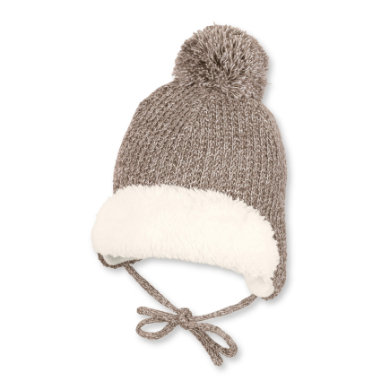 Sterntaler Knitted hat bobble bahno