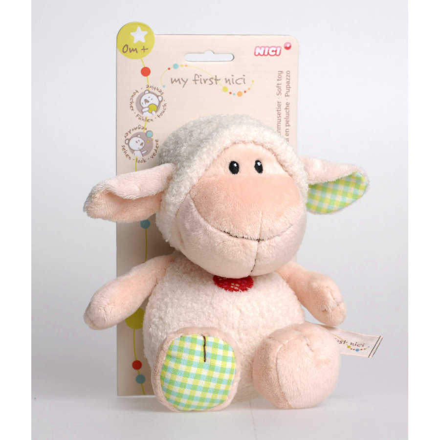 NICI My First NICI Schmusetier Lamm 25 cm mit Header Card
