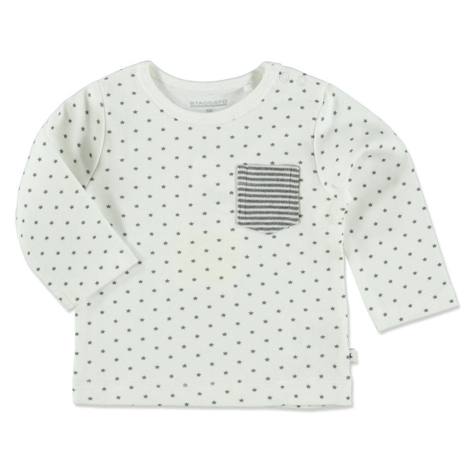 STACCATO Boys Shirt offwhite star