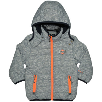 Miniboyjacken - STACCATO Boys Jacke grey structure - Onlineshop Babymarkt