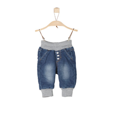 s.Oliver Boys Jeans blue denim stretch regular blau Gr.Newborn (0 6 Monate) Jungen
