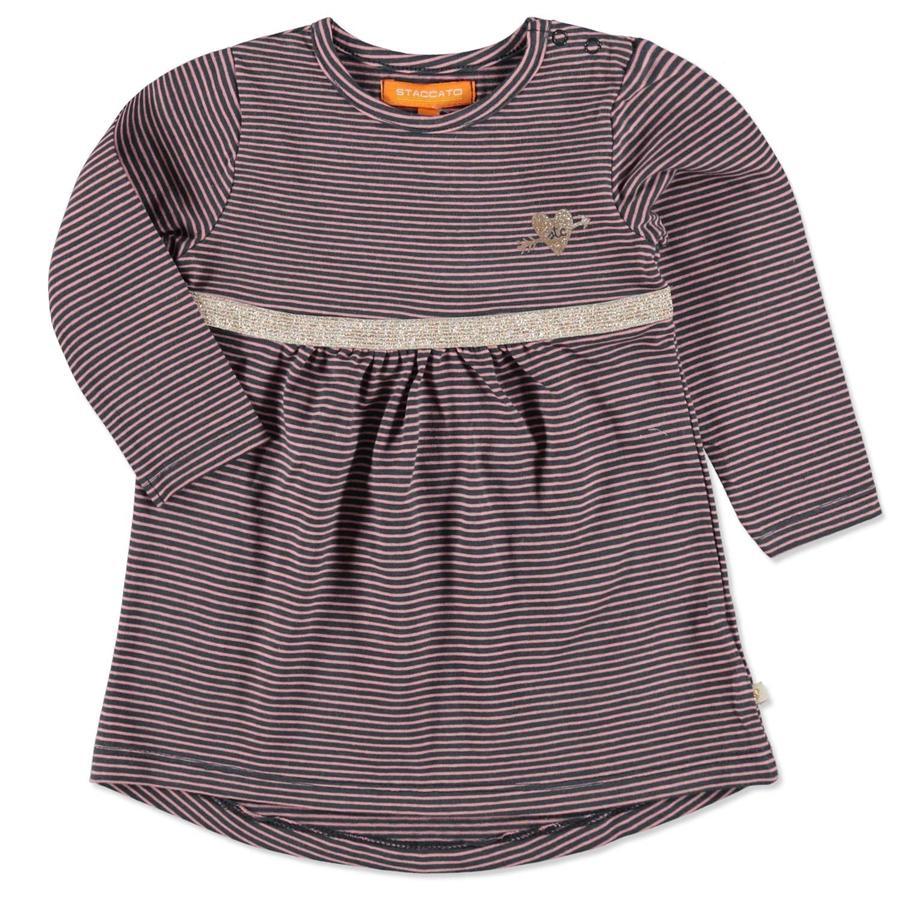 STACCATO Girls Kleid graphit Streifen