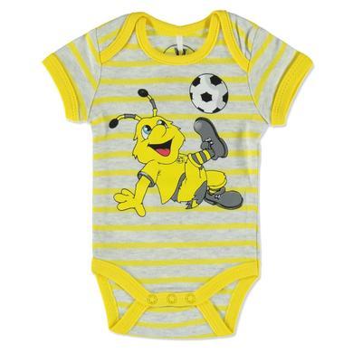 Image of BVB Babybody gestreift - gelb - Gr.Newborn (0 - 6 Monate) - Unisex