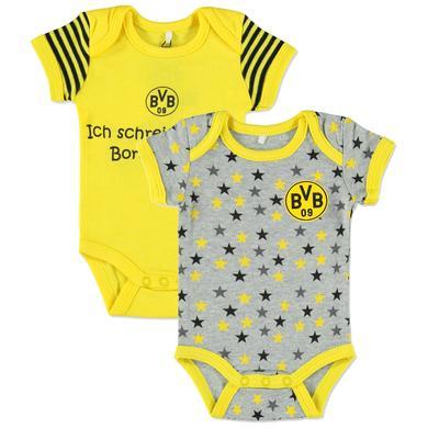 Image of BVB 2er Pack Bodies - Gr.Newborn (0 - 6 Monate) - Unisex