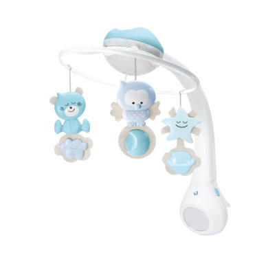B kids® by Infantino 3 in 1 Musikmobile mit Tra...