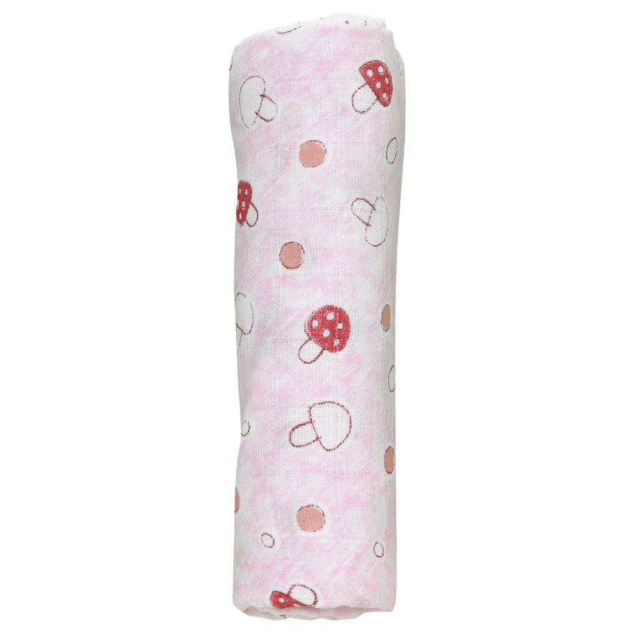 Alvi Mull-Windeln 3er Pack Pilze rosa