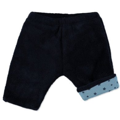 EDITION4Babys Coral Fleece Hose Navy blau Gr.Newborn (0 6 Monate) Jungen