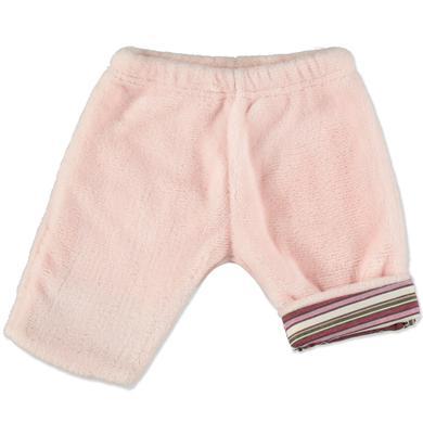EDITION4Babys Coral Fleece Hose beere rosa pink Gr.50 Mädchen