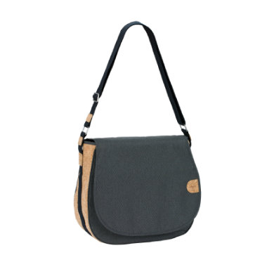 Lässig  Green Label Saddle Bag black mélange - černá