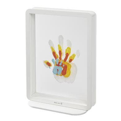 Image of Baby Art Bilderrahmen Family Touch - 4 Superposed Handprints, White (Plexi)