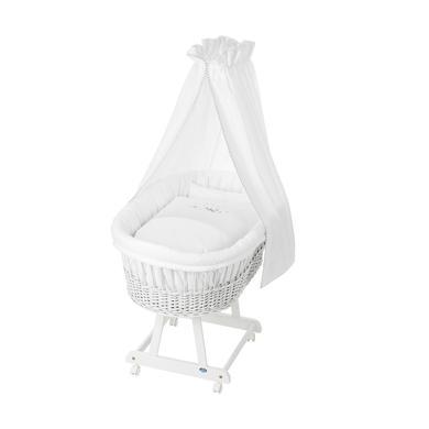 Stubenwagen und Wiegen - Alvi ® Komplettstubenwagen Birthe weiß 757 0 Traumschaf  - Onlineshop Babymarkt