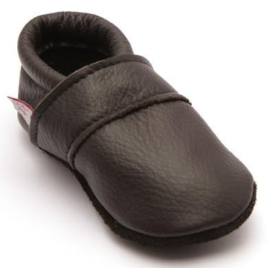 Babyschuhe - TROSTEL Krabbelschuh Classic braun - Onlineshop Babymarkt