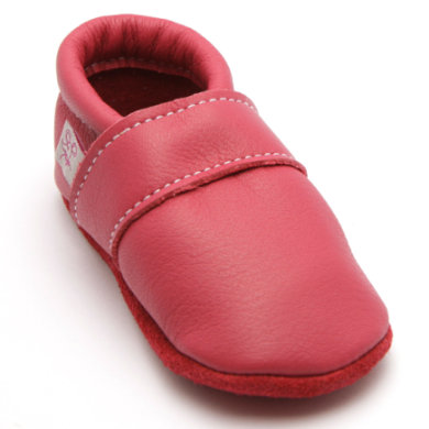 Babyschuhe - TROSTEL Girls Krabbelschuh Classic pink - Onlineshop Babymarkt