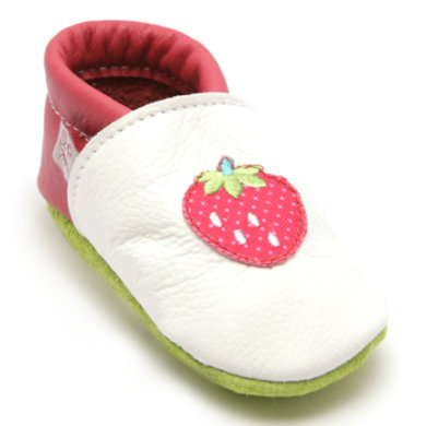 Babyschuhe - TROSTEL Girls Krabbelschuh Erdbeere bunt - Onlineshop Babymarkt