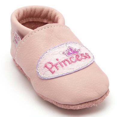TROSTEL Girls Krabbelschuh Prinzessin rosa rosa pink Gr.17 Mädchen