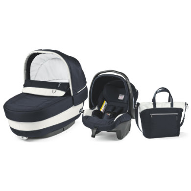 Peg-Perego  Set Elite Luxe Blue 2017 - modrá