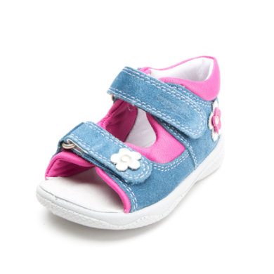 superfit Girls Sandale Polly denim kombi (mittel) blau Gr.Babymode (6 24 Monate) Mädchen