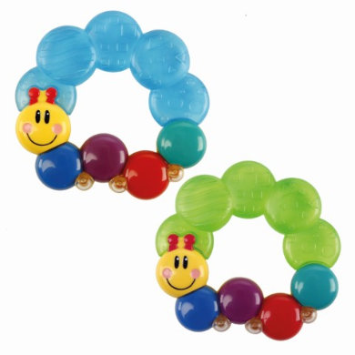 baby einstein ™ - Caterpillar Water Teether™ - pestrobarevná