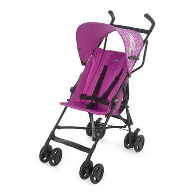 chicco Buggy Snappy inclusief regenbescherming Miss Pink