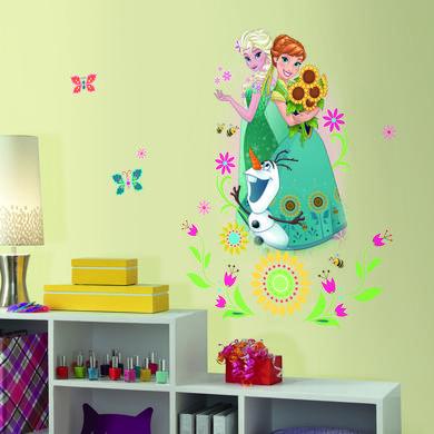 Wanddekoration - RoomMates® Disney's Frozen Anna und Elsa bunt  - Onlineshop Babymarkt