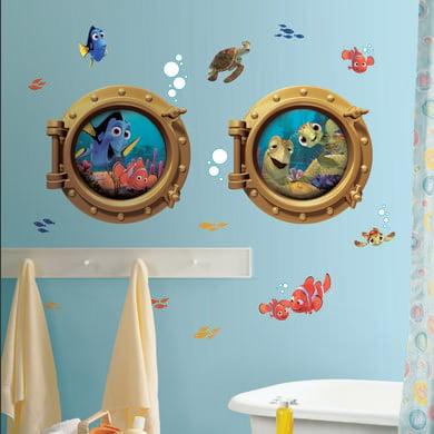 Wanddekoration - RoomMates® Disney Findet Nemo Bullaugen  - Onlineshop Babymarkt