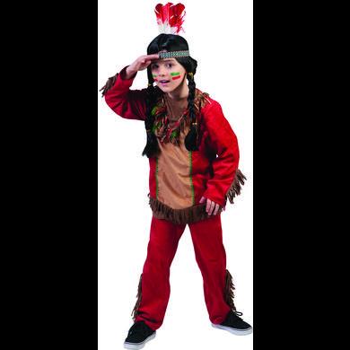 Levně Funny Fashion Karnevalový kostým Red Hawk chlapec