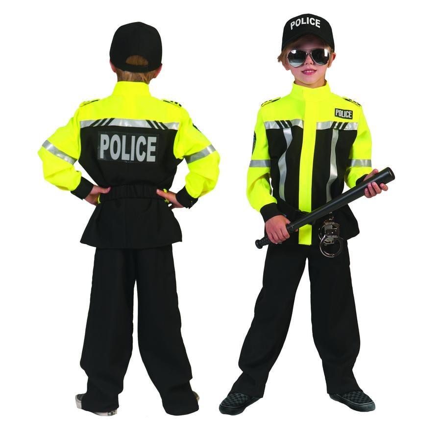 Funny Fashion Karneval Kostüm Polizist Paul