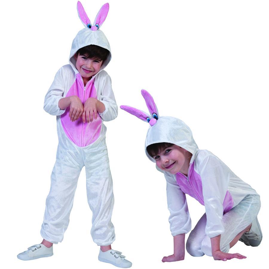 Funny Fashion Karneval Kostüm White Rabbit