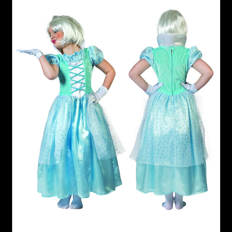 Funny Fashion Karneval Kostüm Eis Prinzessin Clara