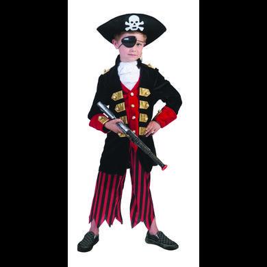 FUNNY FASHION Costume di Carnevale Pirata David