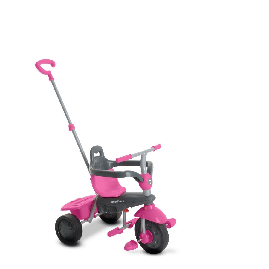 smarTrike® 4 in 1 Dreirad Touch Steering™ Breeze, pink