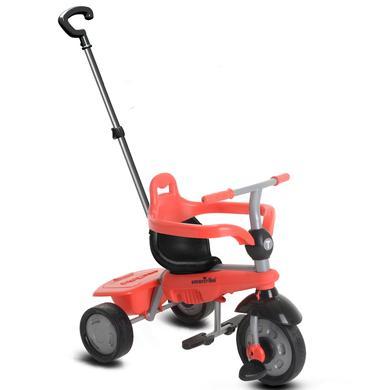 smarTrike ® 4-v-1 Tříkolka Touch Steering™ Breeze, červená