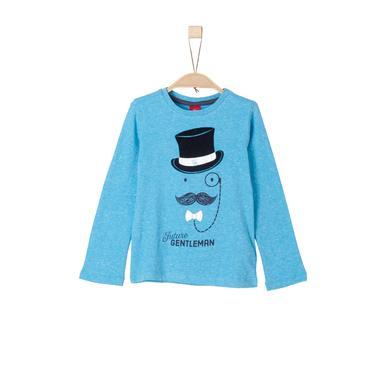 s.Oliver Boys Longsleeve aquamarin knit türkis Gr.Kindermode (2 6 Jahre) Jungen