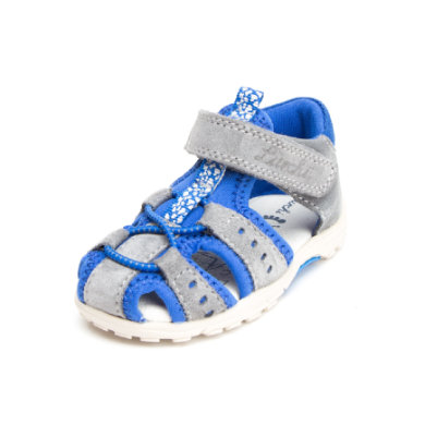 Lurchi Boys Sandale Maxy grey royal (mittel) blau Gr.Babymode (6 24 Monate) Jungen