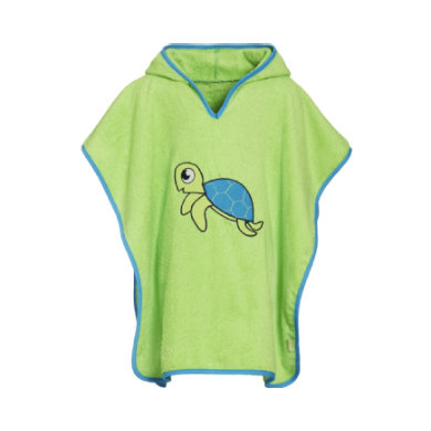 Image of Playshoes Frotte-Poncho Schildkröte
