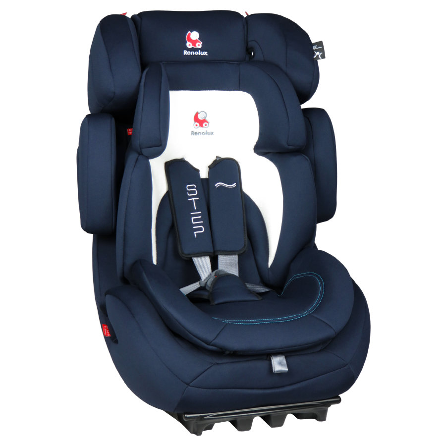 Renolux Kindersitz Step Gr. 1/2/3 Midnight