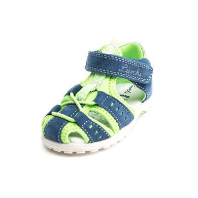 Lurchi Boys Sandale Maxy jeans apple green (mittel) blau Gr.Babymode (6 24 Monate) Jungen