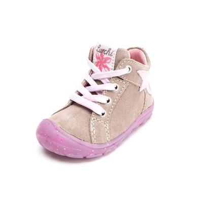 Lurchi Girls Lauflernschuh Goldy taupe rose (mittel) – beige – Gr.Babymode (6 – 24 Monate) – Mädchen