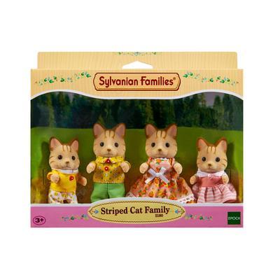 Sylvanian Families ® Familie - Tigerkatzen: Fam...
