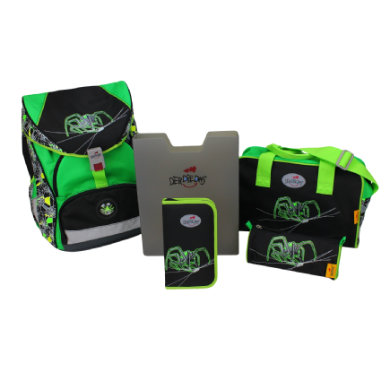 DerDieDas ® ErgoFlex XL - Green Spider, 5-tlg. ...
