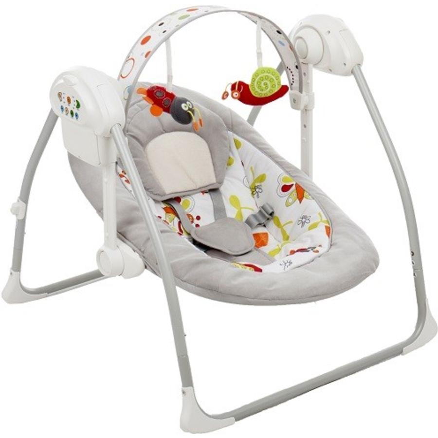 fillikid Transat bébé Flippi gris/motifs multicolores