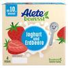 Alete Becherprodukt Joghurt und Erdbeere 4 x 100 g ab dem 10. Monat